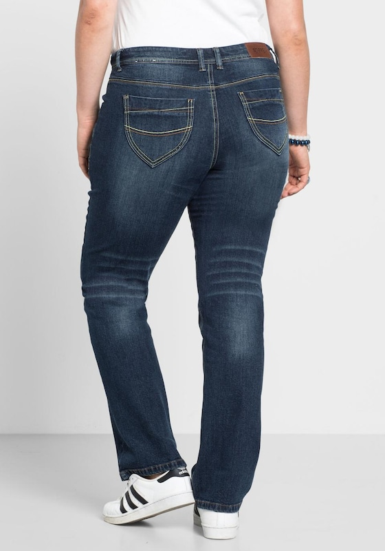 sheego denim Gerade Jeans