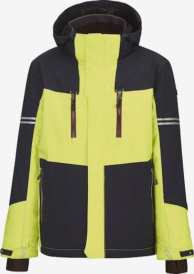 KILLTEC Skijacke 'Yurik' in gelb / schwarz, Produktansicht