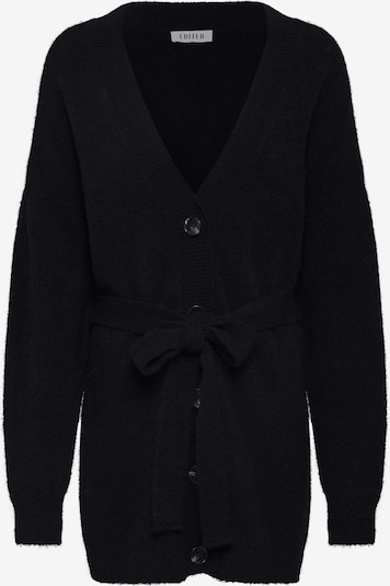 EDITED Strickjacke 'Kimora' in schwarz, Produktansicht