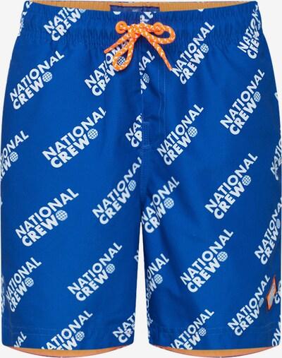WE Fashion Short in blau / orange, Produktansicht