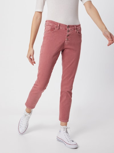 PLEASE Jeans 'trousers' in rot, Modelansicht
