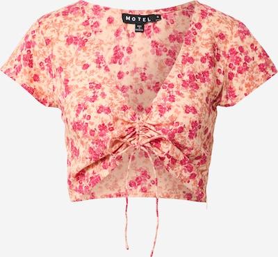 Motel Majica | kremna / rjava / roza barva, Prikaz izdelka