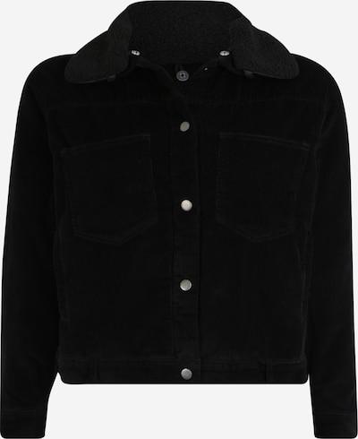 Urban Classics Curvy Tussenjas in de kleur Zwart, Productweergave