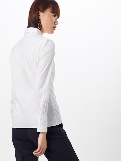 HUGO Chemisier 'The Fitted Shirt' en blanc: Vue de dos