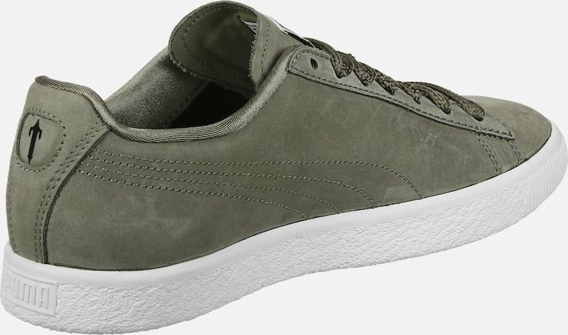 PUMA Bold Sneaker x Trapstar Clyde Bold PUMA mit verzierten Schnürsenkeln 041279