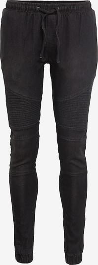 Urban Classics Joggpants 'Biker' in schwarz: Frontalansicht