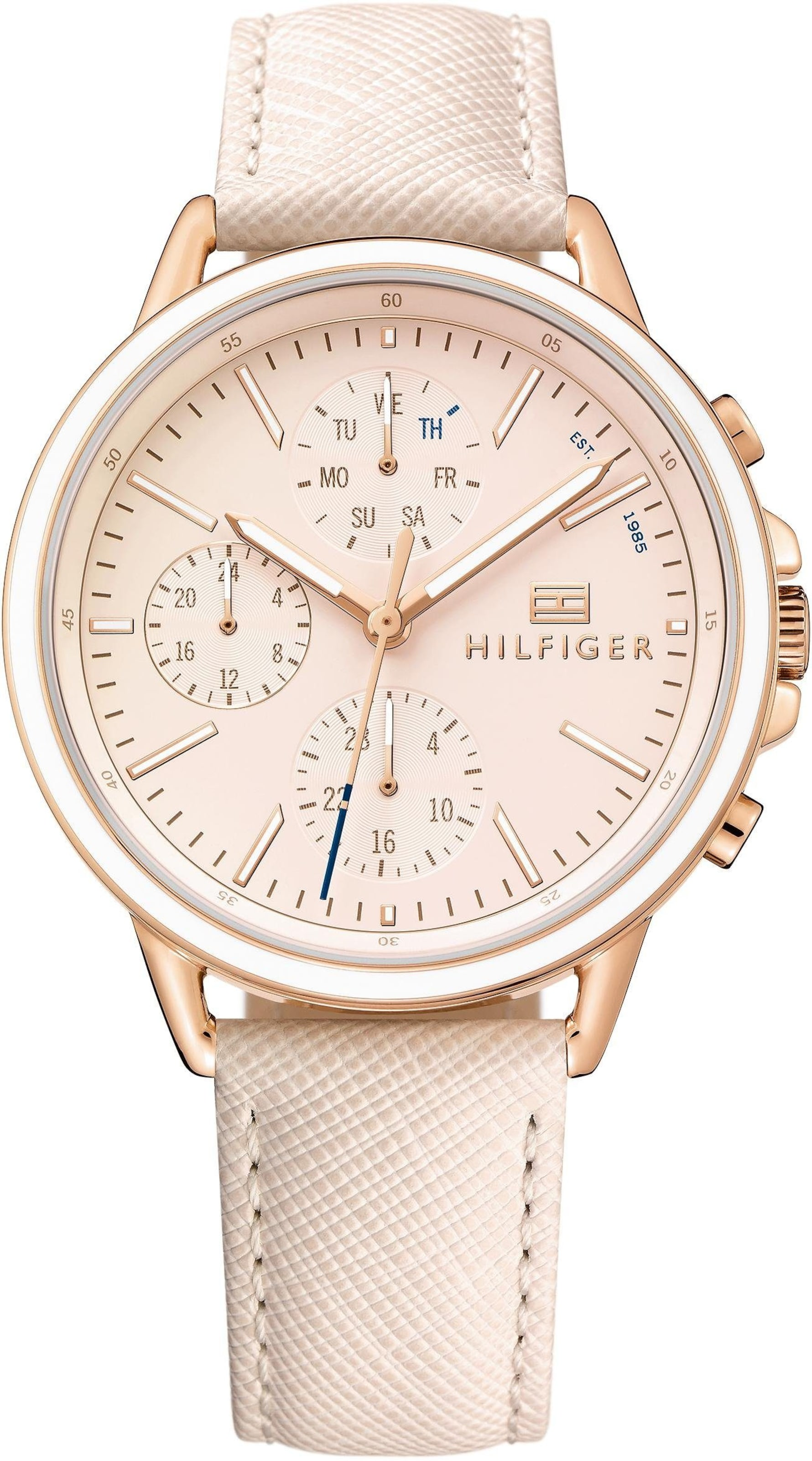 TOMMY HILFIGER Multifunktionsuhr 'Casual Sport, 1781789'
