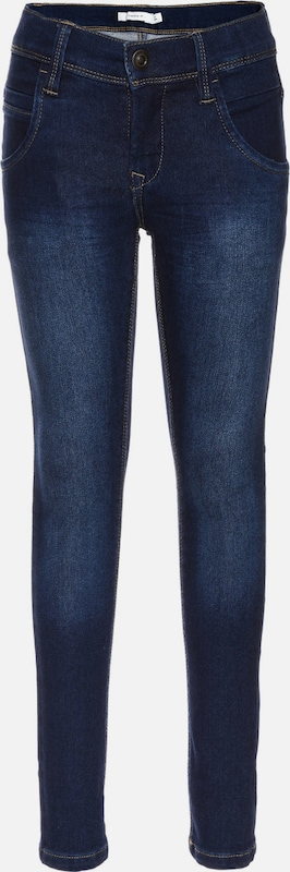 NAME IT Jeans 'TAX' in de kleur Blauw denim, Productweergave