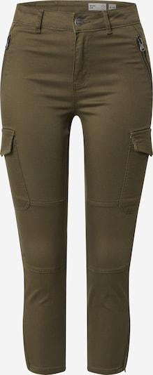 Vero Moda Petite Hose 'HOT SEVEN' in grün / khaki, Produktansicht