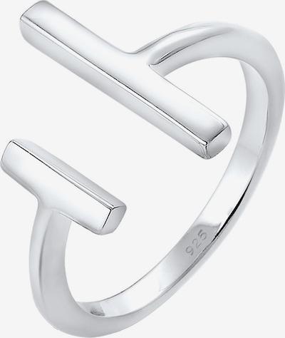 ezüst ELLI Gyűrűk 'Geo', Termék nézet