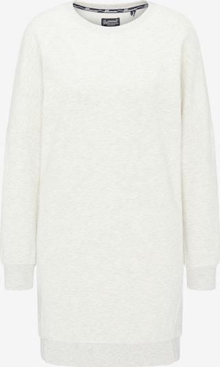 DREIMASTER Sweatshirtkleid in weiß, Produktansicht
