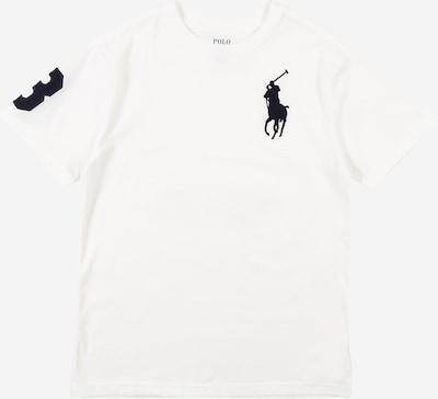 POLO RALPH LAUREN Shirt in dunkelblau / weiß, Produktansicht