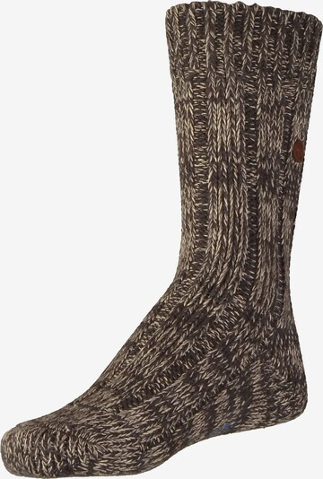 BIRKENSTOCK Socken in schoko, Produktansicht