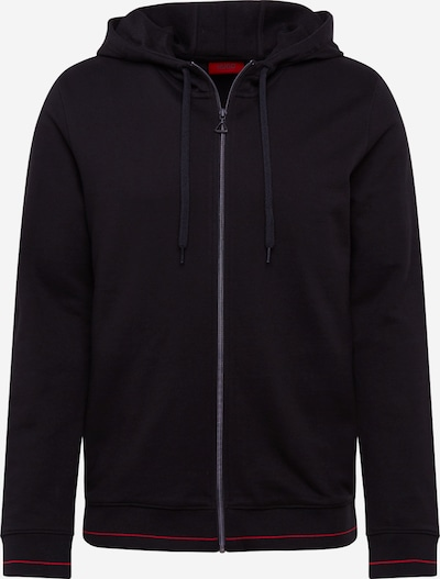 HUGO Sweatshirt 'Daple202' in rot / schwarz, Produktansicht
