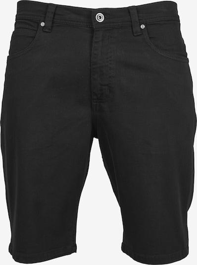 Urban Classics Shorts in schwarz: Frontalansicht