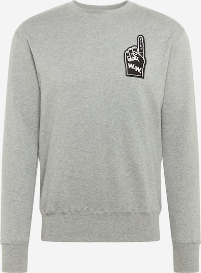 WOOD WOOD Sweatshirt 'Hugh' in grau, Produktansicht