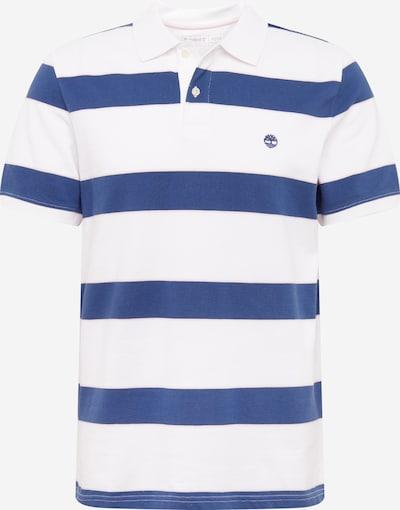 TIMBERLAND T-Shirt en bleu / blanc, Vue avec produit
