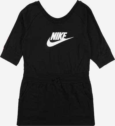 Nike Sportswear Robe en noir / blanc, Vue avec produit