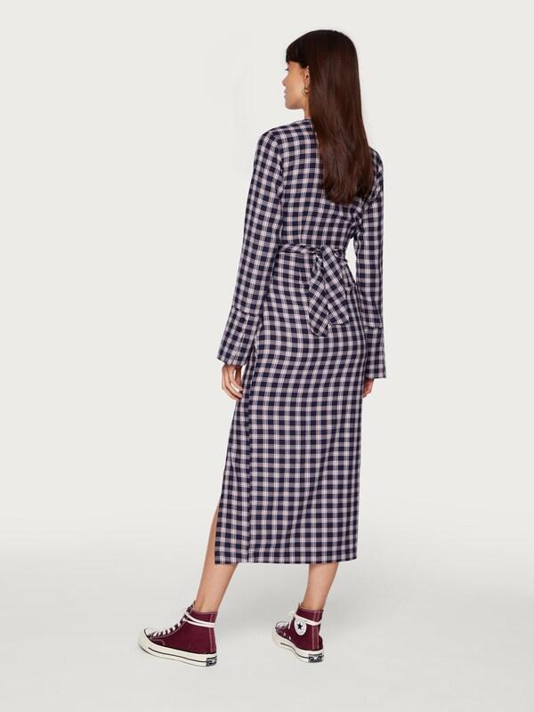 En Edited Robe Blanc 'merle' BleuRouge FKcl1J