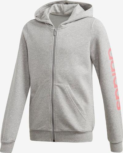 ADIDAS PERFORMANCE Jacke in graumeliert / pink, Produktansicht