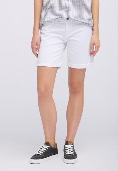 MUSTANG Shorts in weiß, Modelansicht