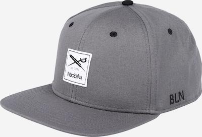 Iriedaily Cap 'Daily Flag 20 Snapback' in graumeliert / schwarz / weiß, Produktansicht
