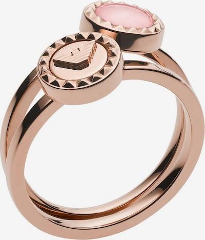 Emporio Armani Ring-Set 'Essential' in rosegold, Produktansicht