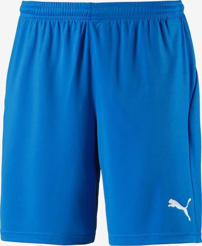 PUMA Fußballshorts in blau, Produktansicht