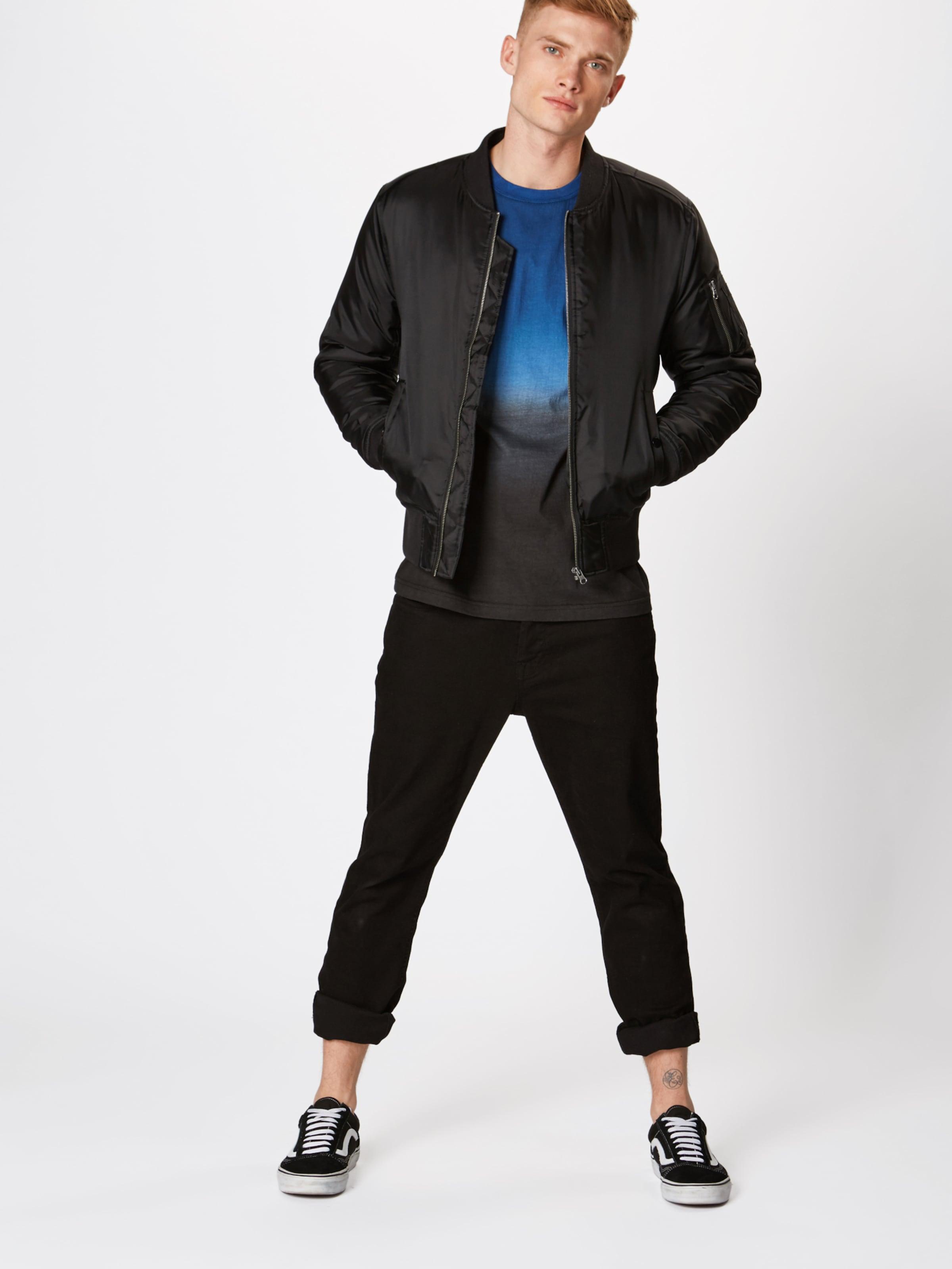 DunkelblauWeiß In Dyed Shirt 'dip Tee' Classics Urban ED9IY2WH