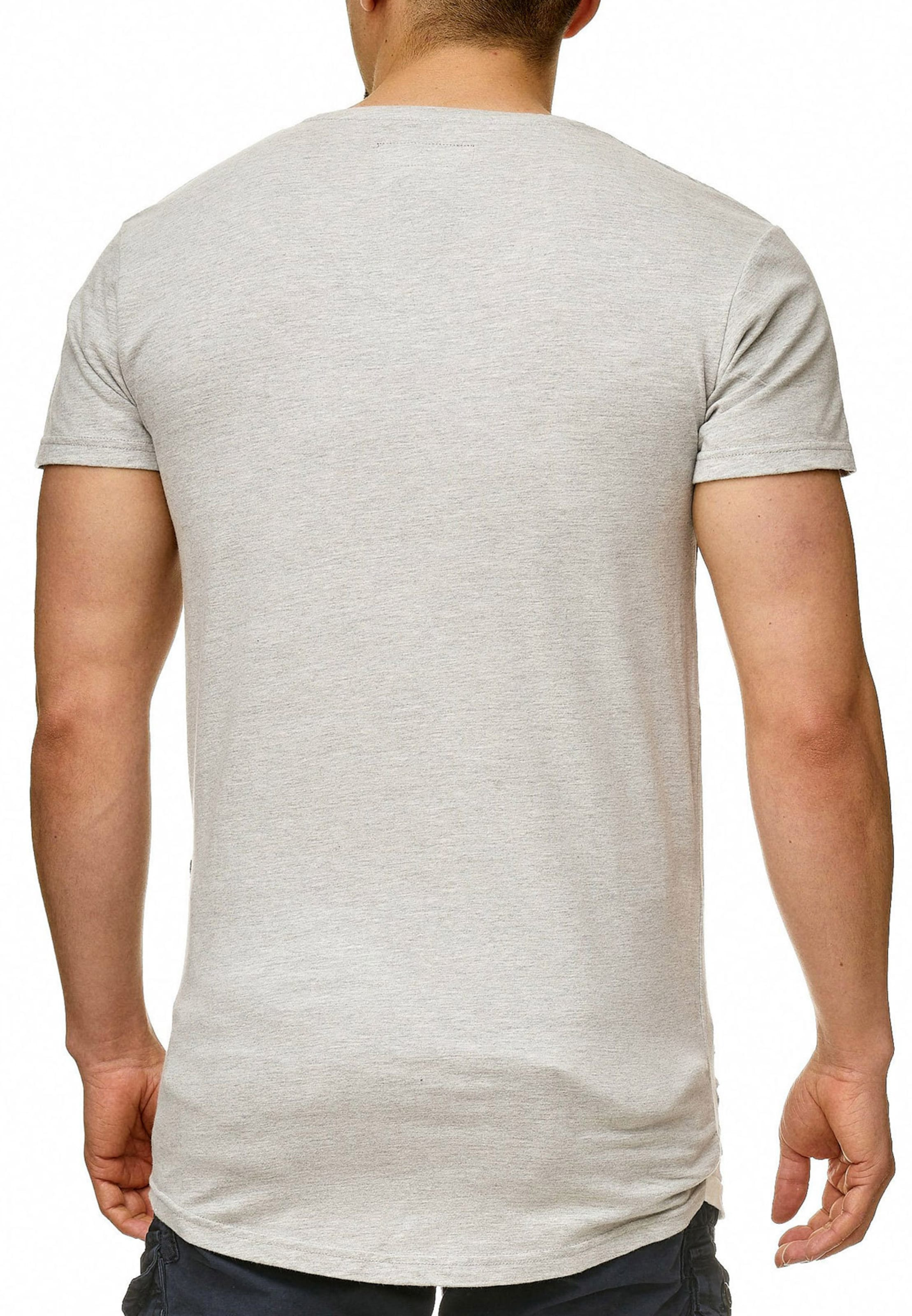 Indicode shirt En Jeans T 'lund' Clair Gris Y6bfv7gy
