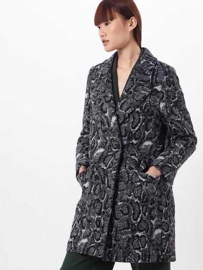 DRYKORN Mantel 'GIRONA' in schwarz / weiß, Modelansicht
