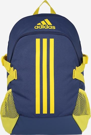ADIDAS PERFORMANCE Rucksack in blau / gelb, Produktansicht