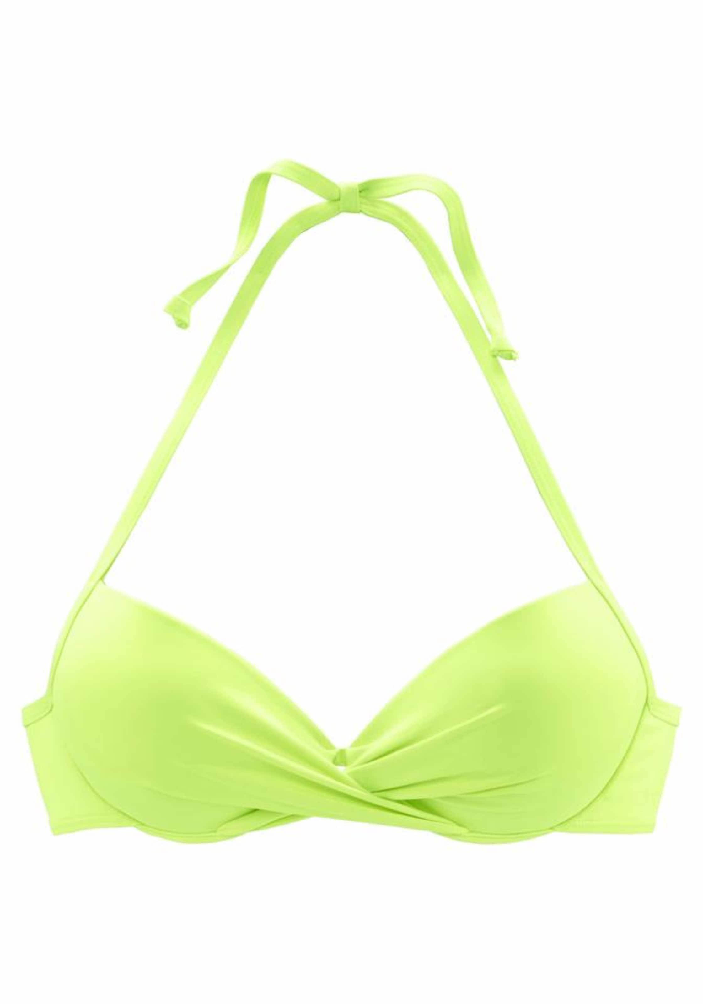 S In oliver Red Label 'spain' Beachwear Bikinitop Limette IYf6gb7yv