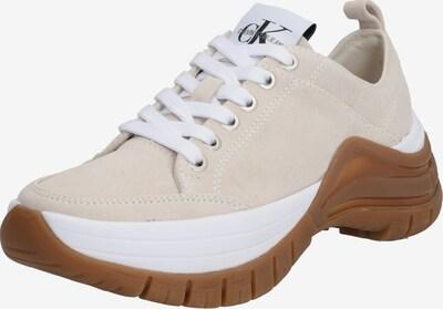 Calvin Klein Jeans Zemie apavi 'Tisha' pieejami bēšs, Preces skats