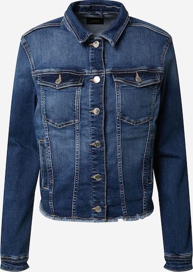 ONLY Jeansjacke 'ONLBLUSH REG JACKET RAW WAIST' in blau / blue denim, Produktansicht