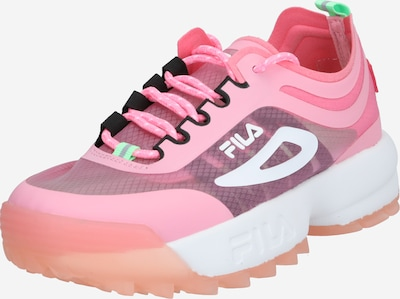 FILA Baskets basses 'Women Heritage Disruptor Run CB' en rose, Vue avec produit