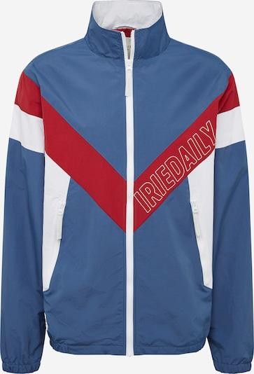 iriedaily jacke blau weiß rot