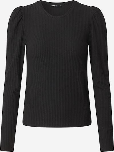 ONLY Tričko 'Emma' - černá: Pohled zepředu