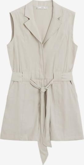 MANGO Jumpsuit 'Bowie' en gris claro, Vista del producto
