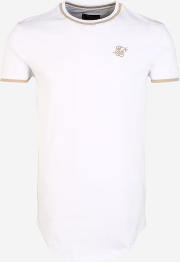 SikSilk Shirt in weiß, Produktansicht