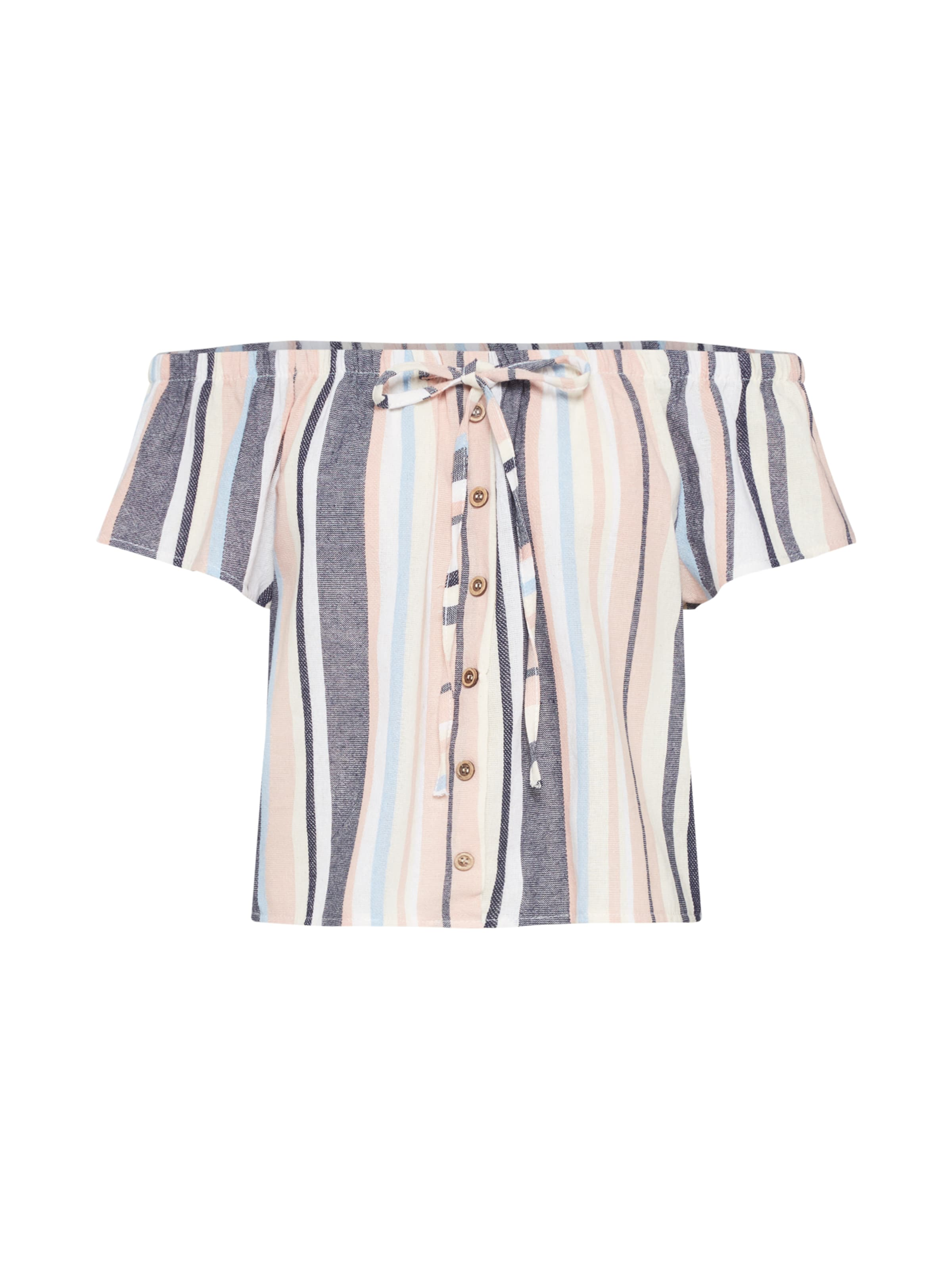 Kirah' Tp C Blanc En RoseNoir shirt 'ss Hailys T DYbeE9IWH2
