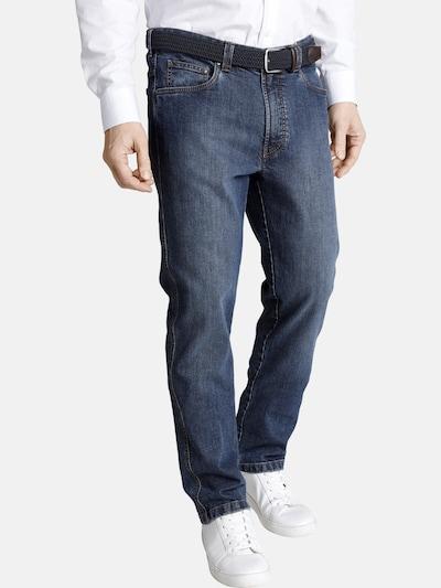 Charles Colby Jeans 'Accolon' in de kleur Blauw denim: Vooraanzicht