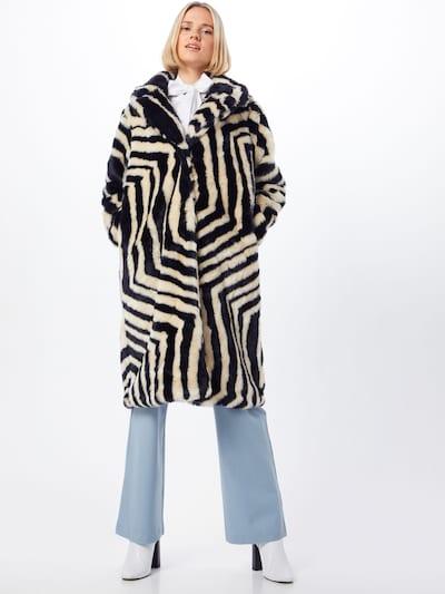 IVYREVEL Mantel in schwarz / weiß, Modelansicht