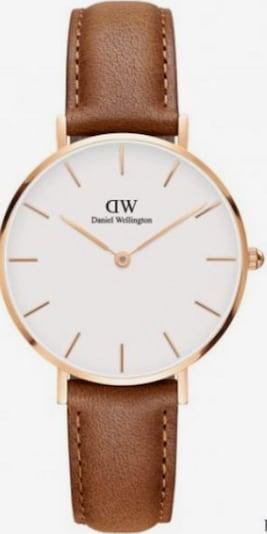 Daniel Wellington Uhr in braun, Produktansicht