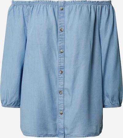 TOM TAILOR DENIM Bluse in blue denim, Produktansicht