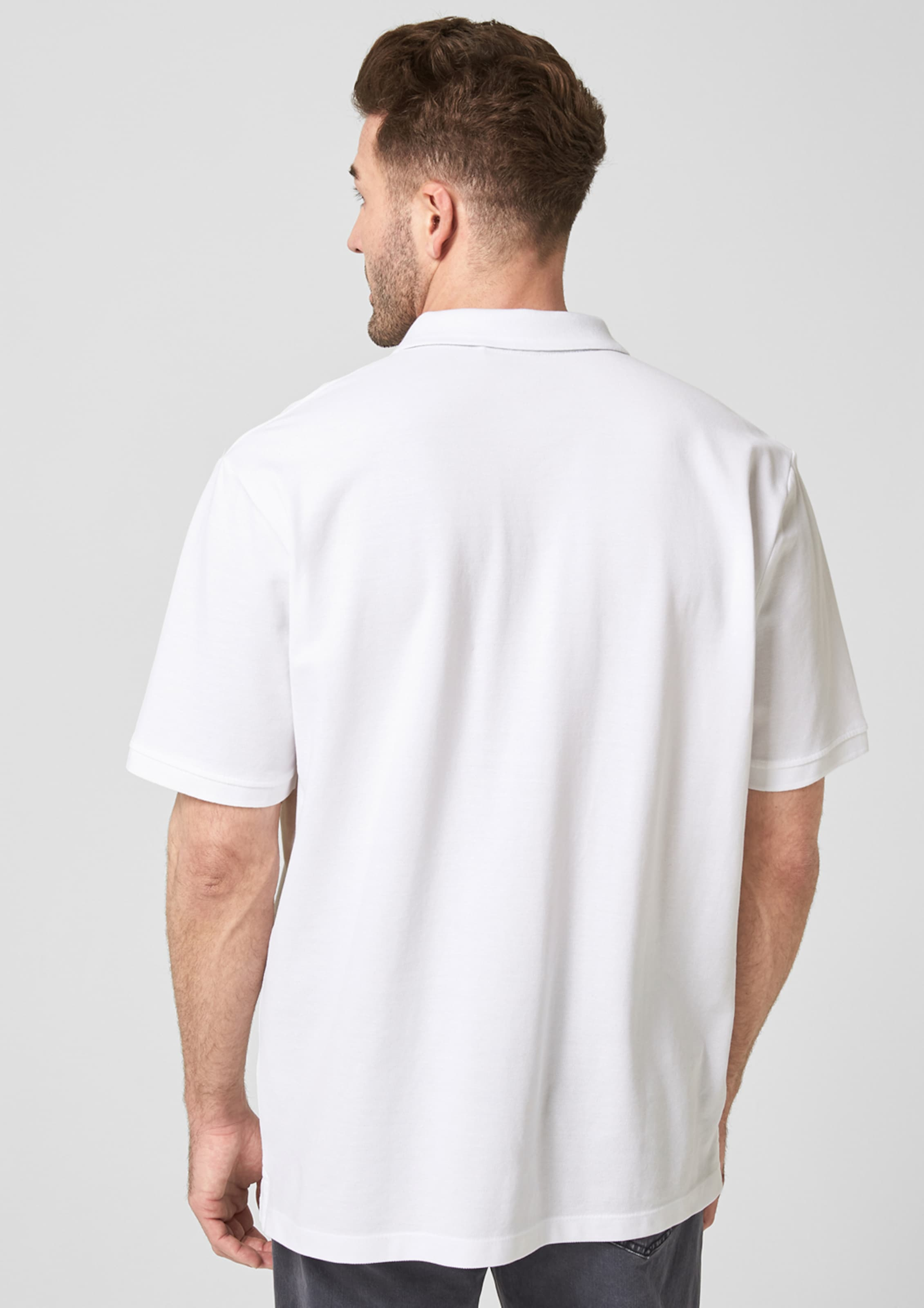 In S oliver S oliver Poloshirt Weiß ARc3q4j5L