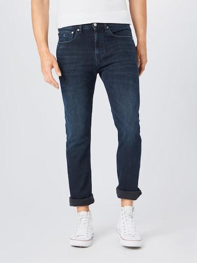 Jeans Calvin Klein Jeans pe albastru denim, Vizualizare model