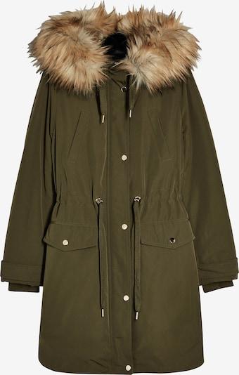 Miss Selfridge Winterparka 'LUXE' in de kleur Kaki, Productweergave