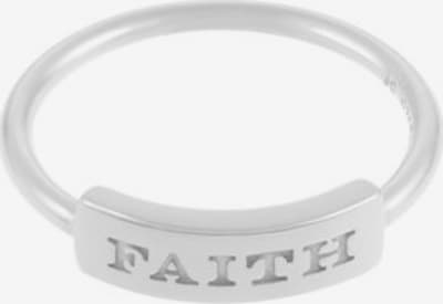 ID Fine Ring 'Faith' in silber: Frontalansicht