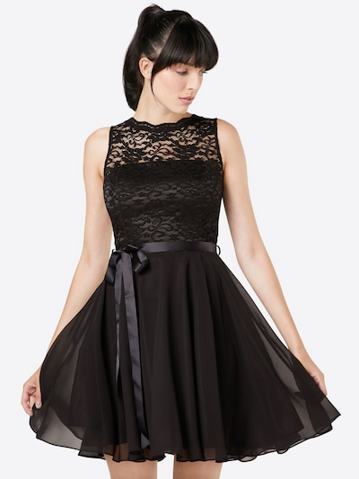 SWING Cocktail Dress in Black, View model